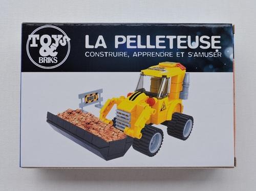 TOYS BRIKS - Pelleteuse (113 pièces)
