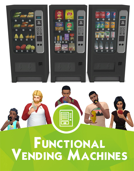 CCs Sims 4 | Du détail dans vos lieux public