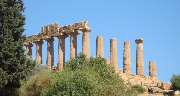 Agrigente, depuis le Temple d'Hera.5jpg
