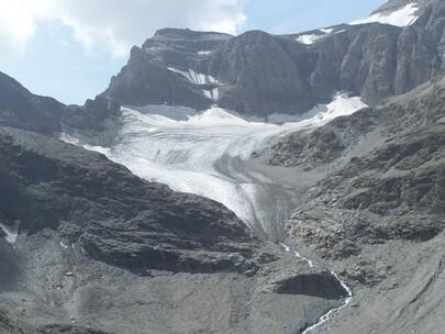 Glacier de Derrière le Clapier