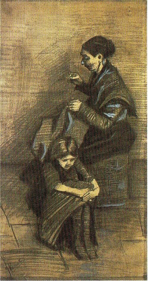 4.V Gogh. Liaison avec Sien