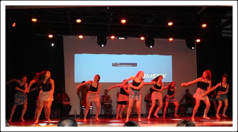 Spectacle de danse africaine.