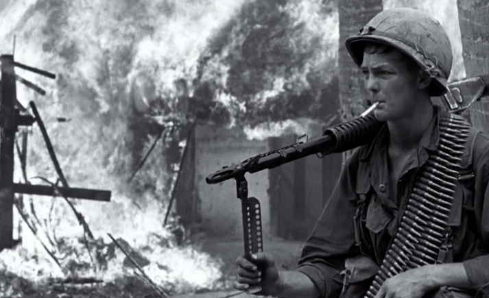 Attaque d'un village sud-vietnamien (1966), DR