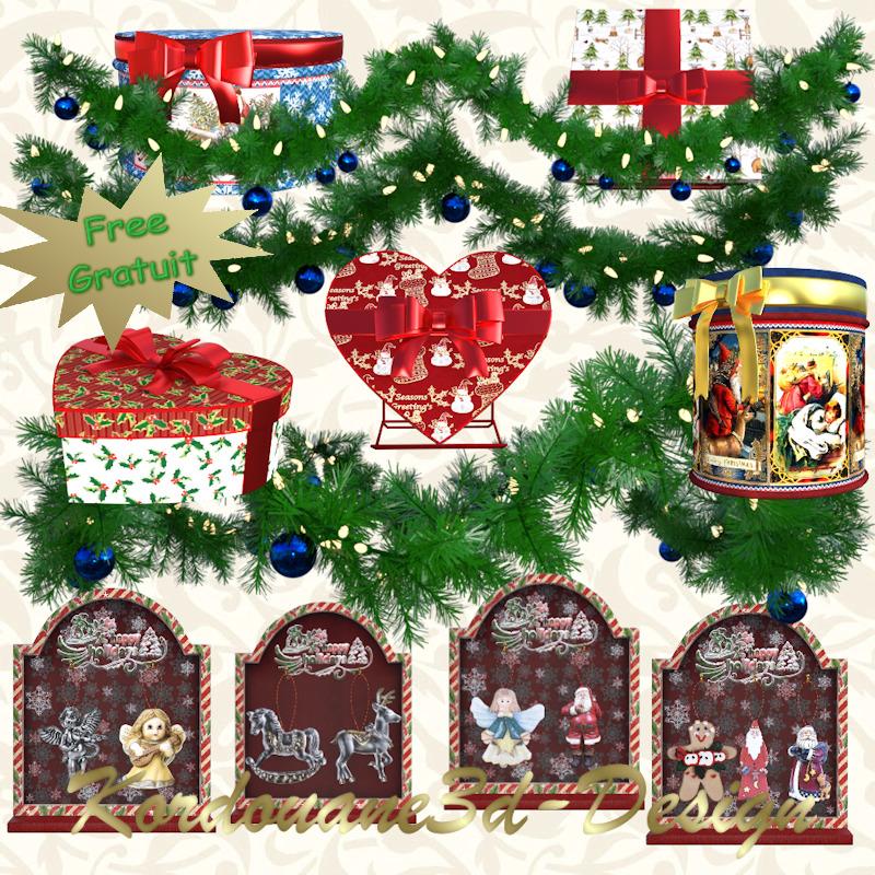 Kit de tubes de Noël gratuit (render-Christmas-free)