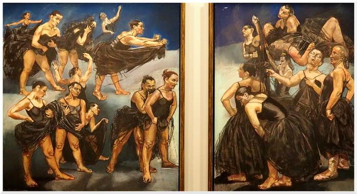 Exposition de Paula Rego au Musée de l'Orangerie. 2
