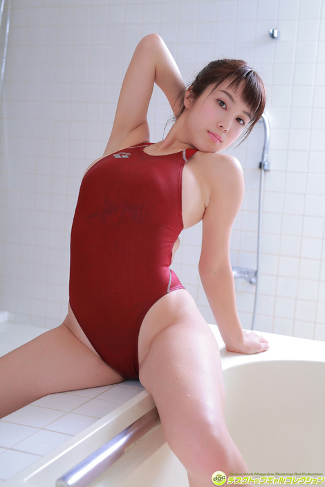 WEB Gravure : ( [DGC] - | 2016.01 | Minori Inudo/犬童美乃梨 : ヤンマガ「黒BUTA GIRL」初代グランプリ! )