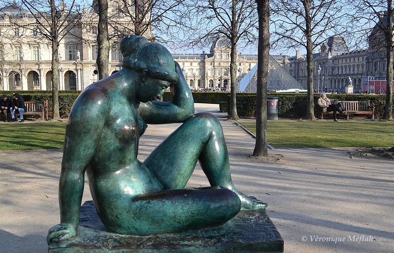 jardin du Carrousel : Aristide Maillol : La Méditerranée
