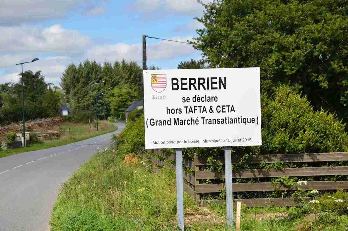 Berrien, commune hors Tafta!