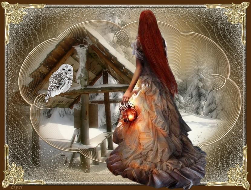 L'elfe des bois