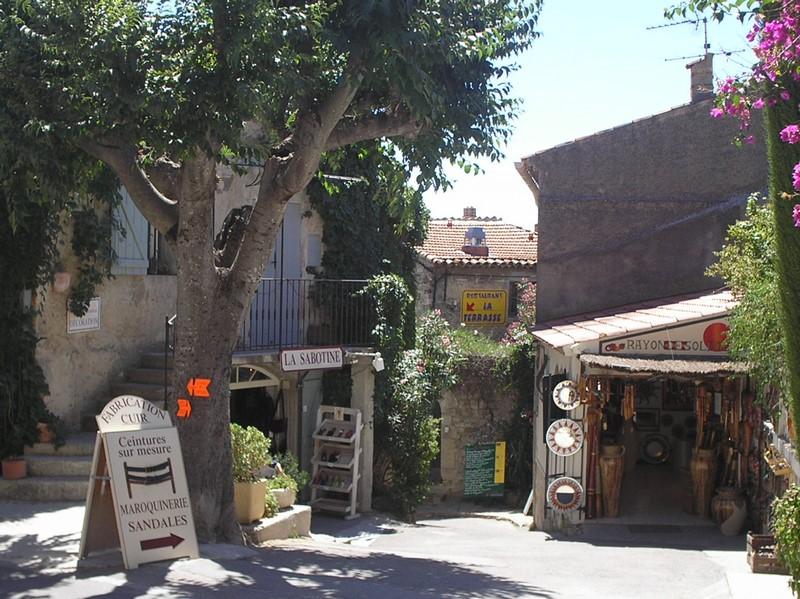 Le village du Castellet