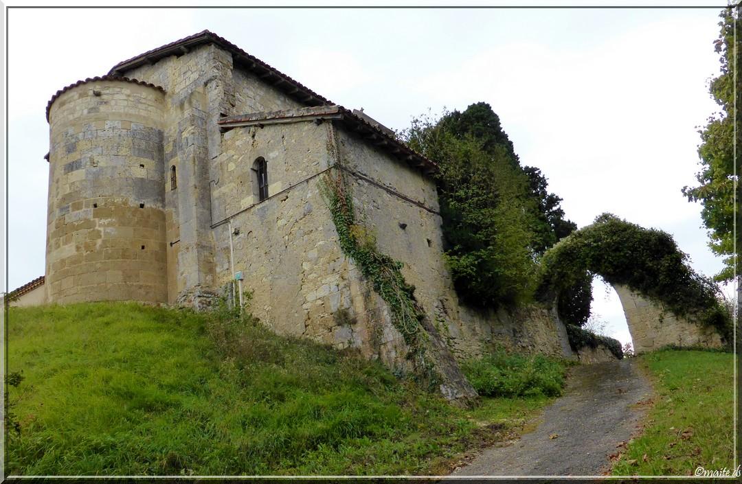 Eglise Sainte-Gilles de Peyrusse-Massas - Gers (32)