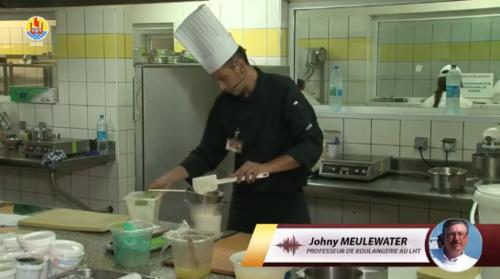 photo concours de pâtisserie  lycée hôtelier de Tahiti