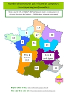 Carte de France des refus des compteurs
