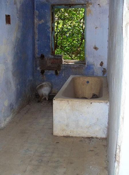 suite de la visite de l'ashram