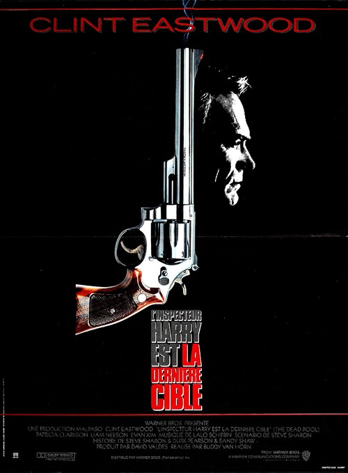 LA DERNIERE CIBLE - BOX OFFICE CLINT EASTWOOD 1989