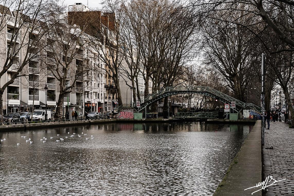 Paris - Canal Saint Martin (1)