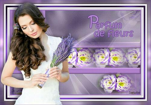 *** Parfum de fleurs ***