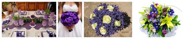 Le violet : Couleur non conventionnelle pour le mariage