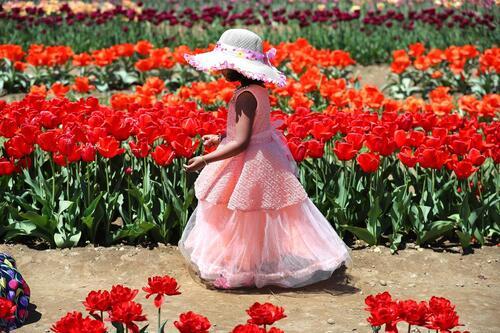 Bienvenue chez moi, avec l'âme de la fleur,