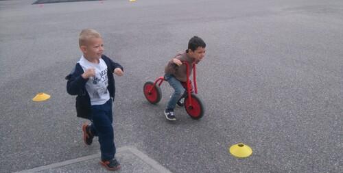 Run and bike et autres activités sportives pour apprendre à coopérer