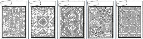 Coloriages, géométrique, motricité fine, concentration, cycle 2, cycle3