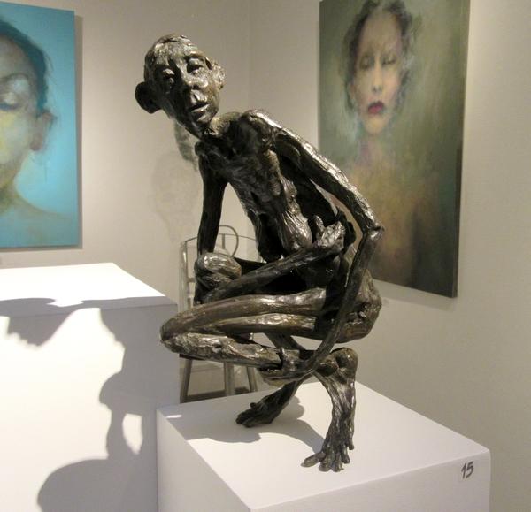 Pierre Mouzat expose à la Galerie d'Or et d'Art de Châtillon sur Seine