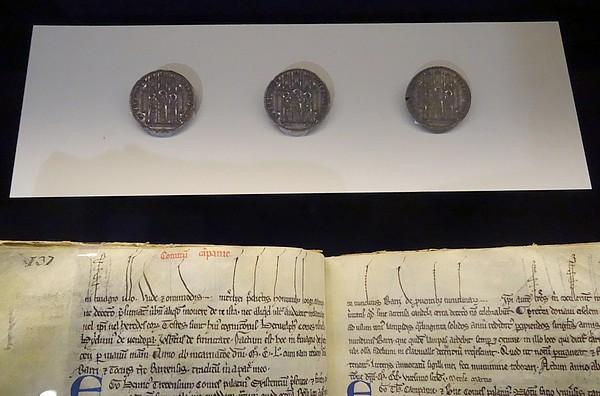 """D'autres très beaux """"incunables"""" présentés au public lors de l'exposition de Troyes """"Clairvaux, l'aventure cistercienne"""""""