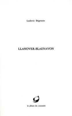 Llanover-Blaenavon