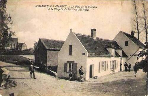 Wolu1200 : Notre commune à l'époque où Bruxelles brusselait