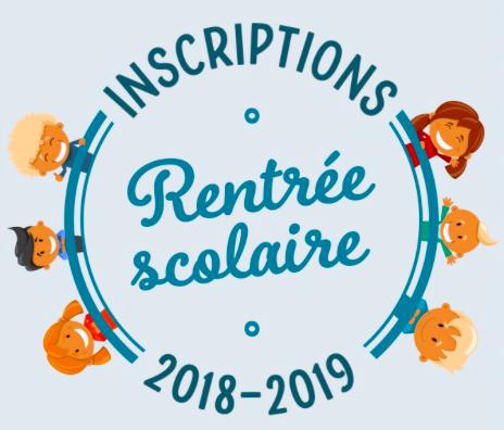 """Résultat de recherche d'images pour """"inscription scolaire 2018 2019"""""""