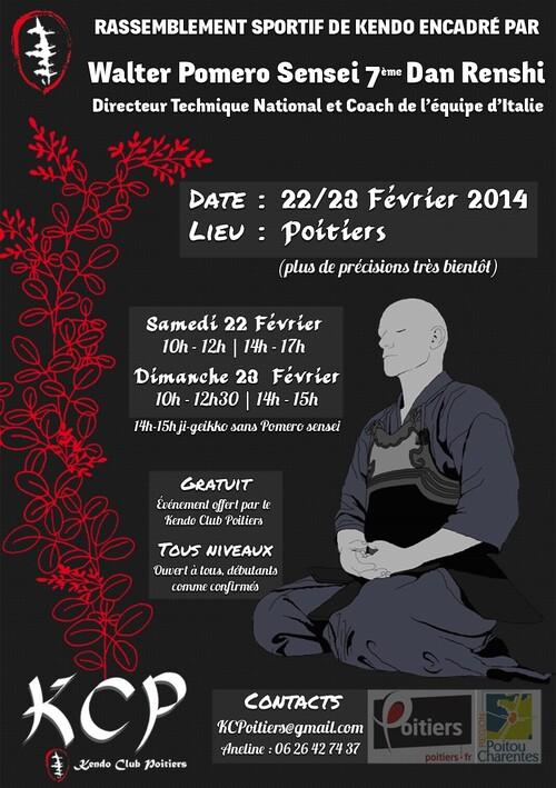 Stage Kendo Poitier 2014