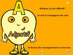 SEQUENCES SUR L'ADJECTIF
