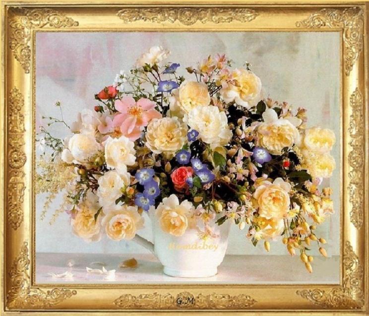 cadre vase pour toutes les fleurs