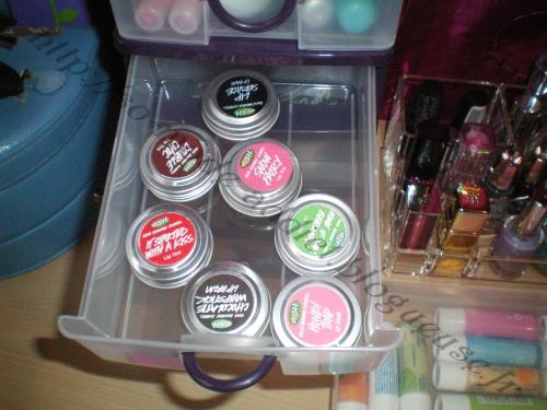 Réorganisation de mon coin make up