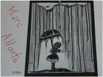 Arts visuels / Il pleut !