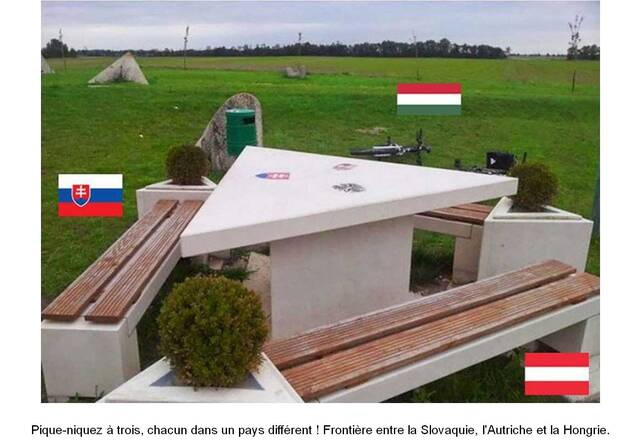Des frontières vraiment originales ...