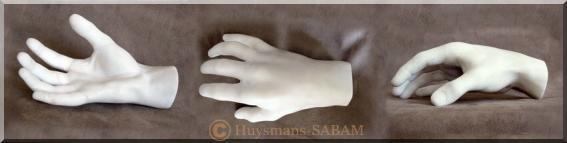 Sculpture d'une main en marbre - Arts et sculpture: sculpteur sur pierre