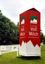 1 Liter Allgäuland - in Duisburg-Hochfeld stand das Tuffi-Gegenstück