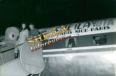 08 février 1967 : Sheila triomphe à Nice.