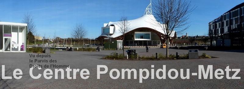 Metz / Phares au Centre Pompidou-Metz...
