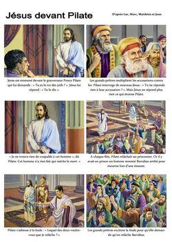 Face à Pilate, la foule choisit Barrabas à Jésus