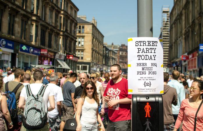 Vous n'aurez pas à chercher bien loin où faire la fête à Glasgow
