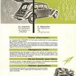 La traction commerciale Mai 1954