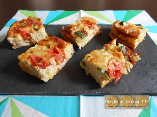 Clafoutis aux courgettes & tomates cerises