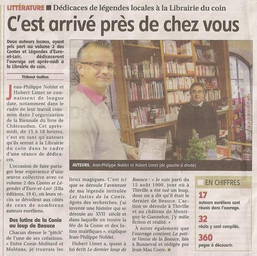 L'Echo du 24 décembre 2012 dédicaces Contes et... Libr du Coin