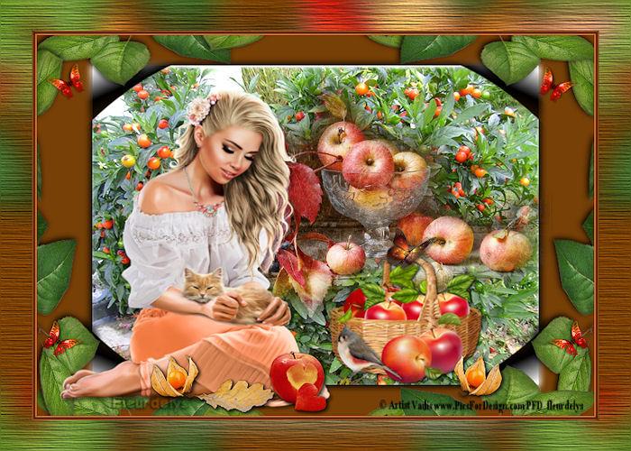 """Défi 11 """"La cueillette des pommes"""""""