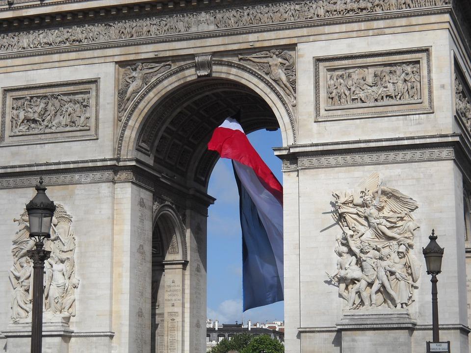 Arc De Triomphe, Paris, France, Europe, Européenne