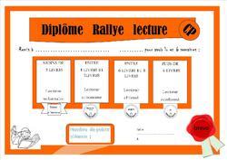 Rallye lecture fin CP- début CE1 Raton liseur