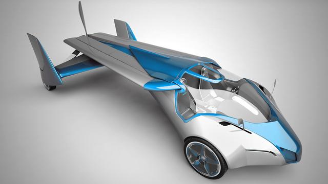 Les voitures volantes : Un nouveau prototype