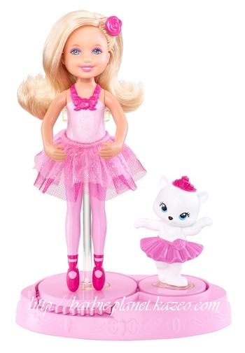 Poupée Chelsea, Barbie Rêve d'une Danseuse étoile, avec sa chatte